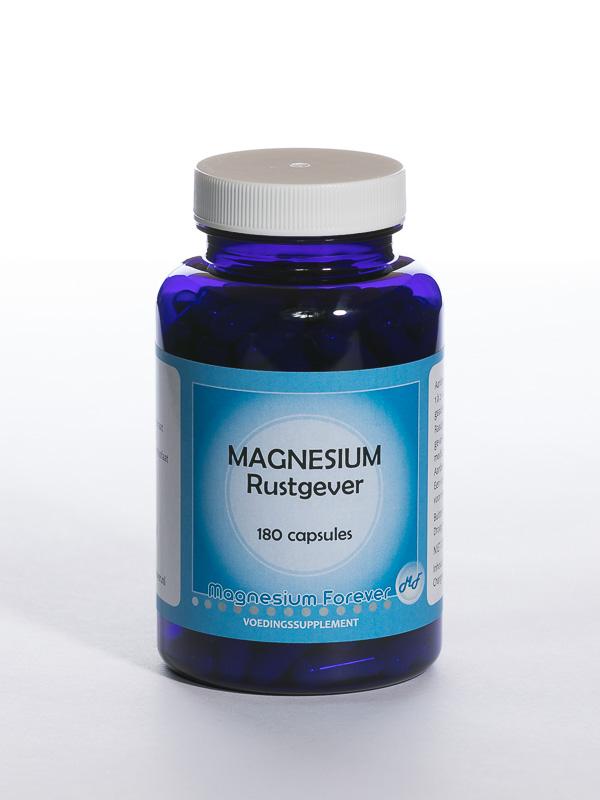 Voedingssupplement magnesium rustgever tegen stress