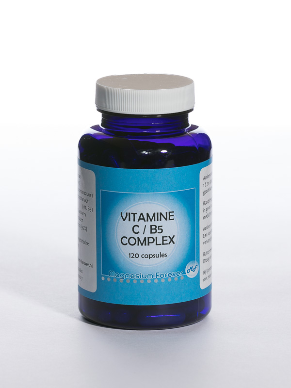 Voedingssupplement vitamine C B% complex